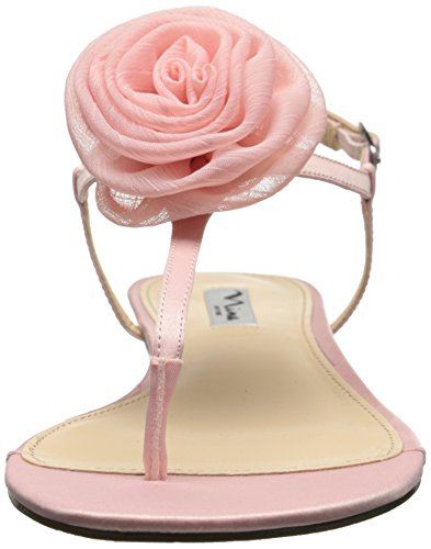 Nina Kady Satin Sandales ballet pink