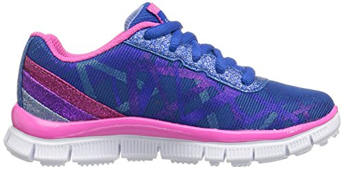 Skechers Appeal Gimme Glimmer, Sneakers Basses Fille Bleu (BLMT)