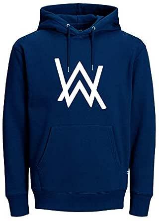ABSOLUTE DEFENSE Alan Walker Hoodie for Men Women Casual Sweatshirt Regular fit Winter Jacket Boy Girl Hoodie Blue