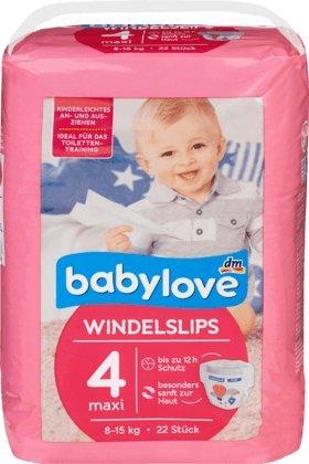 babylove Pants Windelslips Größe 4, maxi 8-15kg, 22 St