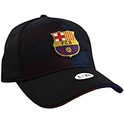 Gorra Grid Nº 1 L/XL FC. Barcelona - Producto Licenciado - Talla L/XL Adulto Regulable - Polyester 100%