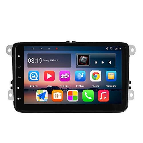 KKXXX S8 GPS per auto navigazione GPS VW Polo Golf 5 6 Polo Passat B6 CC Jetta TIGUAN TOURAN EOS Sharan Scirocco Caddy GPS Navi auto Video Player Radio GPS 2
