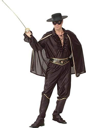 Kostüm Deluxe Zorro - Kleid Kostüm Party Super Hero Legende Von Zorro Deluxe Bandit Man Kostüm Outfit