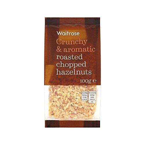 Noisettes Hachées Grillées Waitrose 100G - Paquet de 4