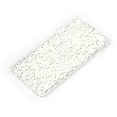 TIODIO® 4 en 1 Rigide Plastique Shell Housse Coque Étui Case Cover pour Apple iphone 6S/iPhone 6, Protecteur d'écran et stylet inclus, A15 A09