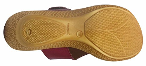 Sammy confort ouvert sandale tong chaussures casual coin des femmes de l ' Bordeaux