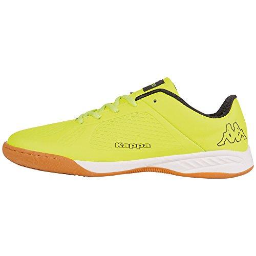 Kappa VYPER T Footwear Teens - Zapatillas de Material sintético para Niño, Color Negro, Talla 37