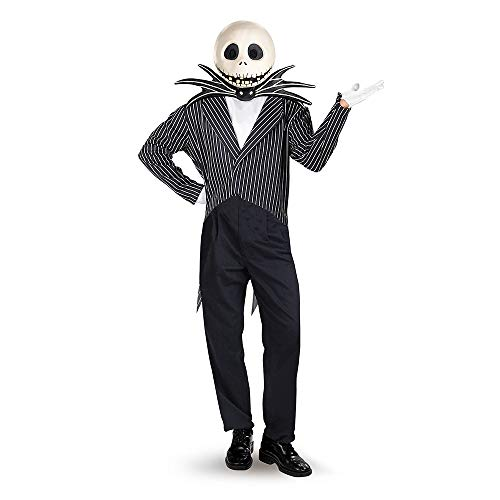 Adult Jack Skellington Fancy dress costume Standard (Jack Skellington Kostüm)