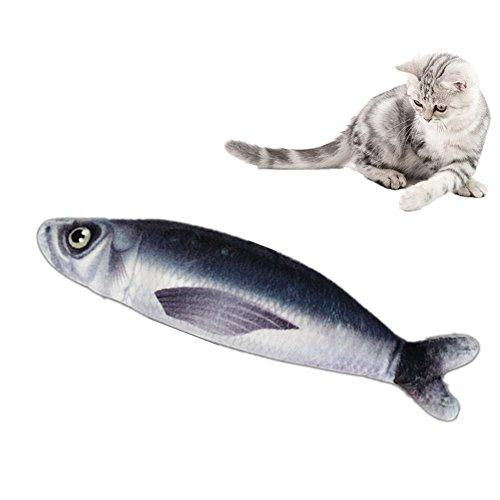 OCHO8 Katzenminze Katzenspielzeug, Katze Kratzer Spielzeug Fischform Katze Kratz mit Catnip Katzenminze Innen