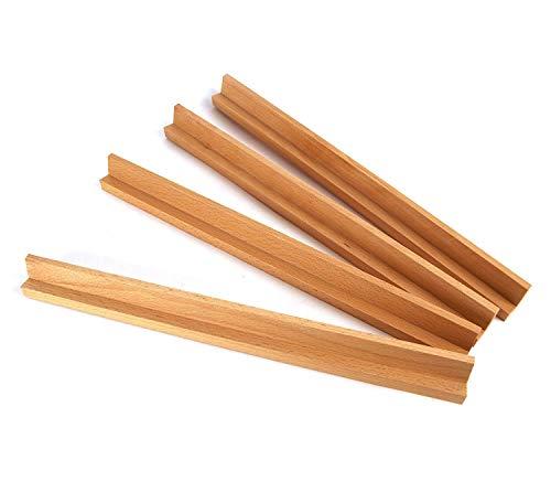 Holz Scrabble Rack für das Handwerk Arts Ersatz Fliesen für Board Games, Scrapbooking, Schmuck und Wall Decor von Schnitt Shop (Risiko Stück Brettspiel)