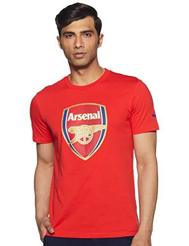 PUMA Kinder T-Shirt AFC Fan Tee Crest Q3 high risk red, 140