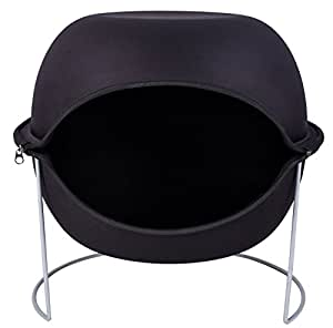 sofa corbeille coussin pour chat nest noir un nid douillet au design incomparable pour votre. Black Bedroom Furniture Sets. Home Design Ideas