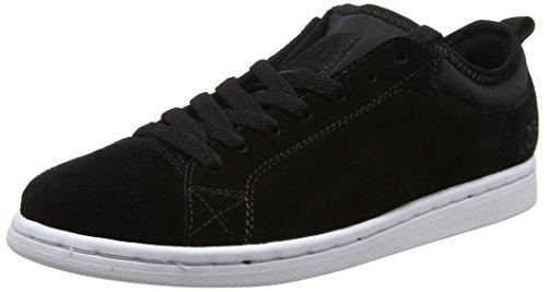 Dc Shoes Magnolia Se, Scarpe Da Ginnastica Basse Donna, Nero (Black/White), 40 EU