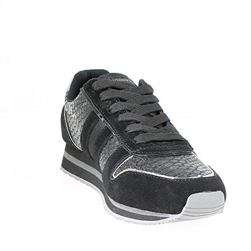 Versace Jeans Snake Runner Donna Sneaker Nero Noir