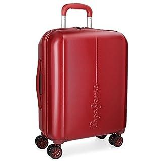 Pepe Jeans Cambridge Equipaje de Mano, 37 litros, 55 cm, Rojo