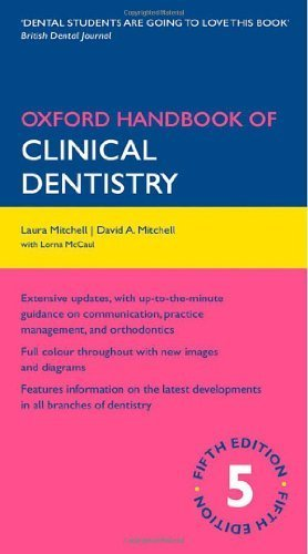 Oxford Handbook of Clinical Dentistry (Oxford Handbooks Series) by Laura Mitchell (2009-07-30)