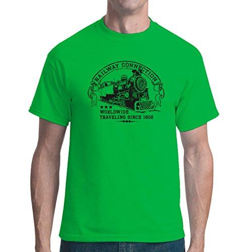 Im-Shirt - Top - Basic - Maniche corte  - Unisex - Adulto verde XXX-Large
