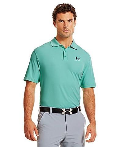 Under Armour Men's Ua Performance Polo Short-Sleeve Shirt, Mint, M