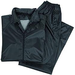 L Negro Sceed Pantalones para Lluvia sin Forro