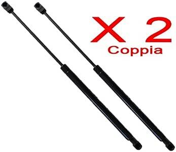 COPPIA MOLLE A GAS PGT 1007 DAL 2005 IN POI COFANO BAULE POSTERIORE 2 PEZZI