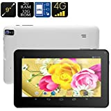 SLB Works Brand New 9 Inch Android Tablet PC Quad Core 16GB WiFi Bluetooth OTG 2MP HD Camera Phablet