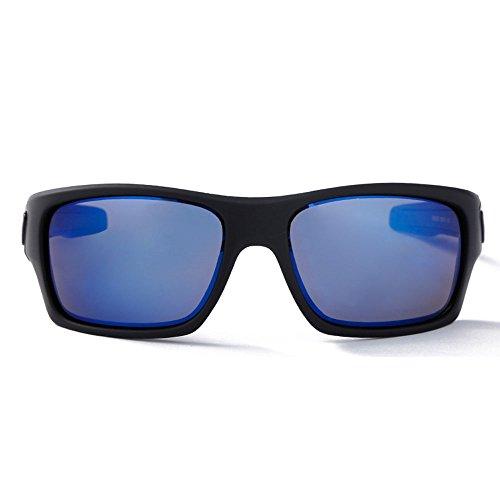 Yiph-Sunglass Sonnenbrillen Mode Erwachsene Outdoor-Brillen Geeignet für Outdoor-Radsportliebhaber Radfahren Brillen Fahrrad Farbwechsel Gläser (Farbe : Blau)