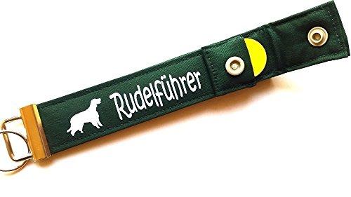 Gordon Setter - Schlüsselanhänger / Schlüsselband mit Einkaufschip / Chip für: Gordon Setter Liebhaber - Geschenk für Hundebesitzer, Hund (Setter Schlüsselanhänger)