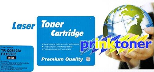Prestige Cartridge Q2612A/12A - Cartucho de tóner láser para HP LaserJet 1010/1012/1020/1022, negro