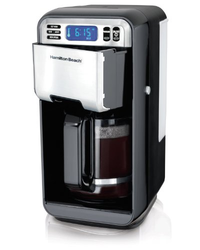 Hamilton Beach Caf Gourmet 12-Cup Kaffeemaschine mit Easy-Access-Entwurf