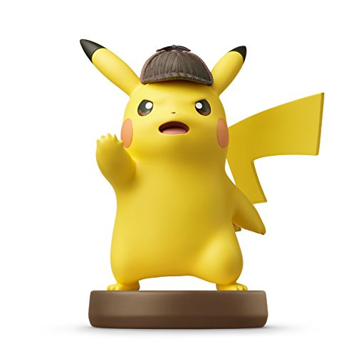 Nintendo   Figura Amiibo Detective Pikachu