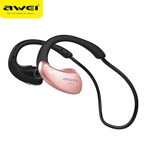 DANGSHUO Bluetooth 4.1 Wireless Earbuds Auriculares estéreo estéreo con reducción de Ruido para Deportes