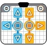 OSTENT Antidérapant Partie 2 Pad Danse Tapis Danse Compatible pour Nintendo Wii...