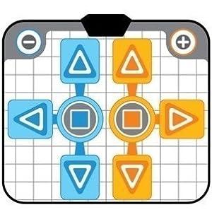 OSTENT Non-Slip Party 2 Tanz Pad Mat Kompatibel für Nintendo Wii GameCube NGC Konsolenspiele
