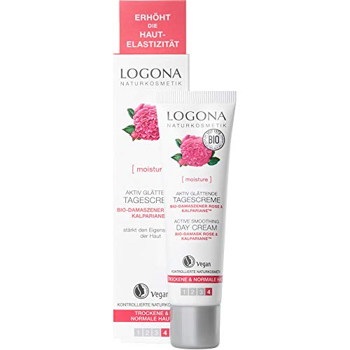 Logona Natural cosmético activo glättende Crema