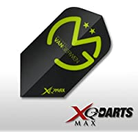 XQmax Michael Van Gerwen Plumas, Unisex, qd529, Negro, 1