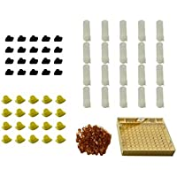 Petacc Apiculture Reine d'élevage kit Apiculture Cell Tasse kit Bee Keeper Ensemble d'outils