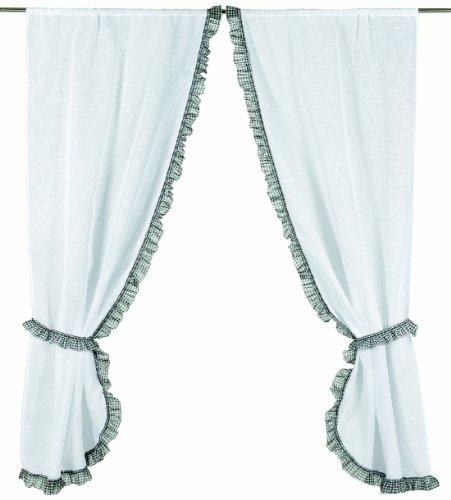 Linder 0390 10 344 Voilage Grande Largeur Polyester Lin Blanc Galon  Fronceur 300 x 240 cm ... 61c78a576a7e