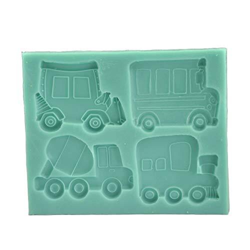 o Form Fondant kuchenform silikonform backen DIY dekoratives Werkzeug küche Kuchen backen - grün ()