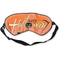 Weiche & glatte Schlafmaske, lustige Schlafmaske, kreatives Augenmaske, Schlaf (Halloween-Leuchtnacht) preisvergleich bei billige-tabletten.eu