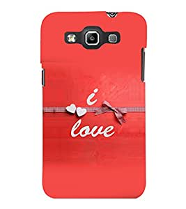 printtech Love Quotes Back Case Cover for Samsung Galaxy Quattro i8552::Samsung Galaxy Quattro Win i8552