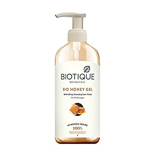 Biotique Bio Honey Gel Refreshing Foaming Face Wash, 300ml