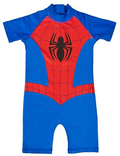 Boys Character Swimsuits Sun Safe Swimming Beach Costume Sunsuit Kids Size UK 1-5 Years