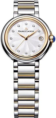 Maurice Lacroix Fiaba Round Damenarmbanduhr mit echten Diamanten