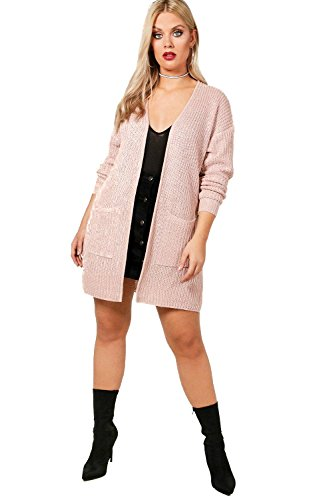 Rougir Femmes Plus Sandy Shawl Collar Cardigan Rougir