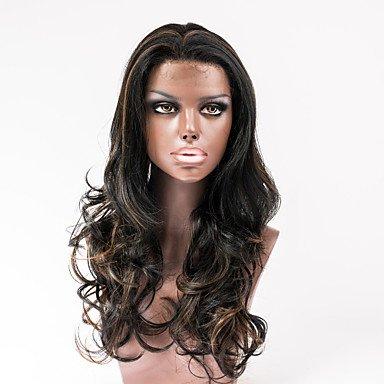 OOFAY JF-synthetische Haarperücken schnüren sich vordere Haarperücken für Art und Weise Frauen Haarperücken Berühmtheit Stil , dark auburn