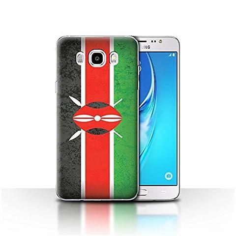 Coque de Stuff4 / Coque pour Samsung Galaxy J5 2016 / Kenya/Kenyan Design / Drapeau Africain Collection