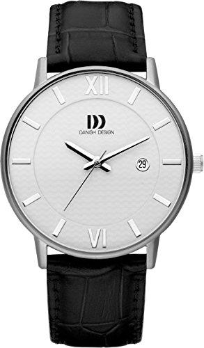 Danish Design Homme Analogique Classique Quartz Montre avec Bracelet en Cuir DZ120685