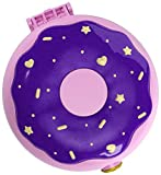 Polly Pocket GDK82 Pocket World Donut Pajama Party Compact with Donut Shape, Surprise Reveals, Micro Polly and Shani Dolls & Pizza Scooter Accessory