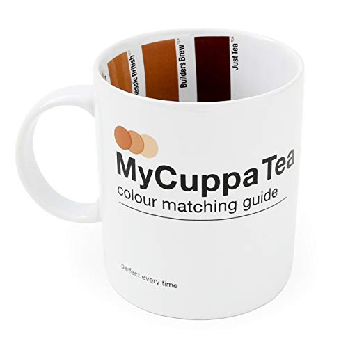 SUCK UK MY CUPPA TEA HOT DRINKS MUG - NOVELTY GIFT FOR BREW LOVERS, MULTI