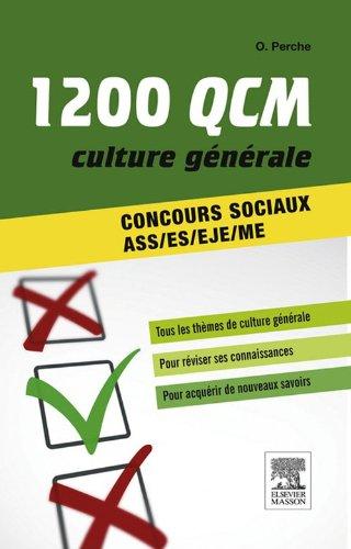 1 200 QCM Culture générale Concours so...